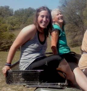 A fun ATV tour together of our neighbor's ranch